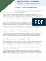 3 - Comment créer un article de blog - Transcript