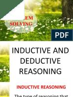 Problem Solving_Inductive & Deductive