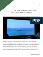 TRE SPIAGGE ABRUZZESI DA AMARE DA RAGGIUNGERE IN TRENO.pdf