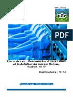 Presentation de Unix/Linux et installation du serveur Debian