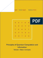 Principles of Quantum Computation and Information. Vol. 1. Basic Concepts - G.Benenti, G.Casati, G.Strini
