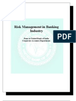 Risk Management in Banking Industry