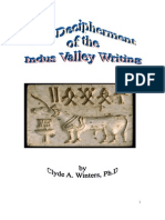 The Decipherment of the Indus Valley Writing