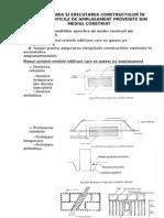 Proiectarea si executia in conditii dificile-mediul construi