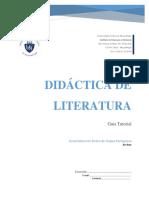 DIDACTICA DE LITERATURA