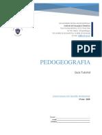 Guia Tutorial- Pedogeografia