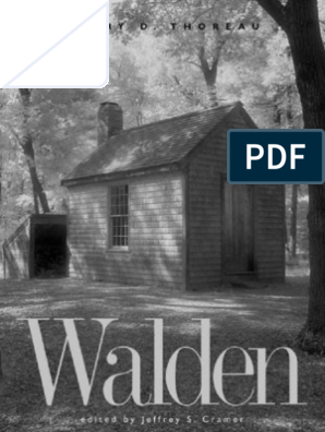 WALDEN [THOREAU] | Walden | Henry David Thoreau
