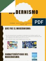 Modernismo presentacion