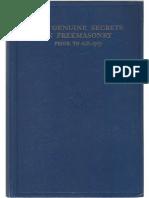 The Genuine Secrets In Freemasonry prior to AD 1717_text (1).pdf