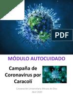 Módulo Autocuidado Coronavirus
