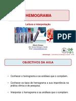 Aula#8_Interpretac. Hemograma_2018