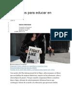 Diez libros para educar en igualdad