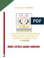 III GUÍA ESCOLAR ARTICULADA POR COMPETENCIAS IEDTHJB III PERÍODO 2020 UNDÉCIMO GRADO2 (1)