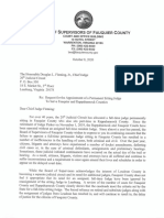 Fleming, Douglas Letter From McDaniel, Mary Leigh
