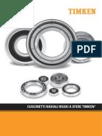 Cuscinetti radiali rigidi a sfere Timken_2017