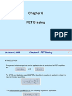 Chapter6 FETs Biasing