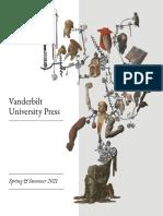 Vanderbilt University Press Spring/Summer 2021 Catalog
