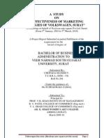 Effectiveness of marketing strategyBy sagar
