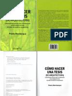 Como Hacer una Tesis de Arquitectura - Flavio Bevilacqua_compressed.pdf