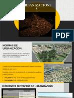 normativa urbanizaciones