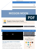 MISSION MOON [Space Apps 2016]
