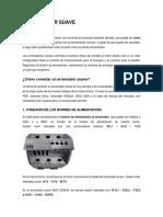 Arrancadores suaves (soft starters) y variadores de frecuencia (VFD)