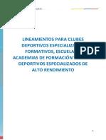 Protocolo Bioseguridad SDE