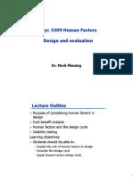 Human factors 4 Design and evaluation 19
