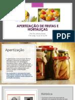 Aula 4.2. Apertização em frutas e hortaliças