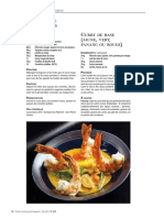 crevettes Curry rouge