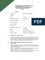 Syllabus Procesal Laboral - Dr. Ciudad.
