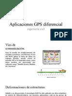 Aplicaciones GPS diferencial