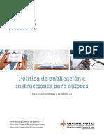 Politicas Editoriales en Español
