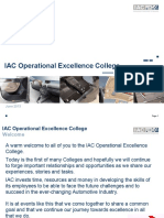 Operational Excellence College - Training Pack 2013 edited.ppt
