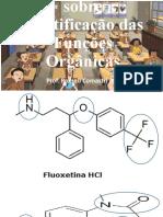 exercícios sobre identifição das funções orgânicas