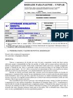 2ª ATIVIDADE AVALIATIVA REMOTA EXTRAORDINÁRIA - PROF BRETAS - RESPOSTA.pdf