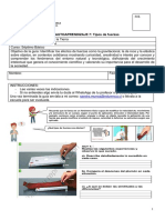 Guía de trabajo de Ciencias Naturales para 7° Básico