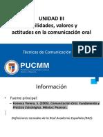 Tema III Habilidades, Valores y Actitudes en la Comunicación Oral PDF.pdf