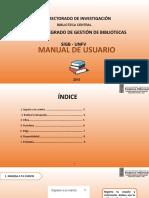 MANUAL DE USUARIO-SIGB-UNFV