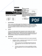 MPD Chase Policy