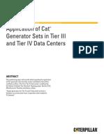 Caterpillar White paper_Genset application for Data center