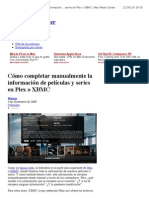 Cómo completar manualmente la información de películas y series en Plex o XBMC | Mac Media Center