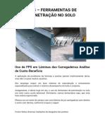Uso de FPS em Lâminas das Carregadeiras Análise de Custo