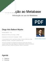 Treinamento de Introdução ao  Metabase