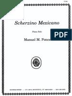 Scherzino Mexicano-Ponce