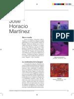 Jose Horacio Martinez. REVISTA EL HOMBRE Y LA MÁQUINA #40