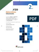 Solucionario Refuerzo Matemáticas (2º ESO)