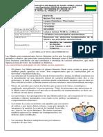 GUIA TERCERO DOS - LENGUA CASTELLANA - PLAN LECTOR..pdf