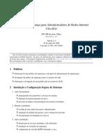 Segurança Redes - CERT.BR Checklist Prático de Seg-Adm-Redes