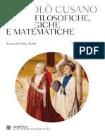 Opere filosofiche, teologiche e matematiche by Niccolò Cusano, a c. di E. Peroli (z-lib.org).pdf